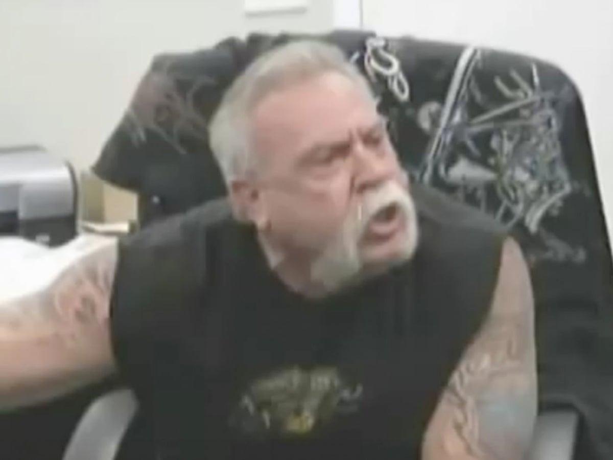 Angry Man Martin