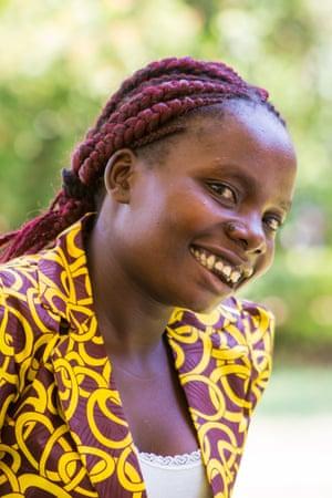 Patricia Moyo from Malawi.