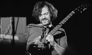 John Abercrombie performing in Hartford, Connecticut, in 1974.