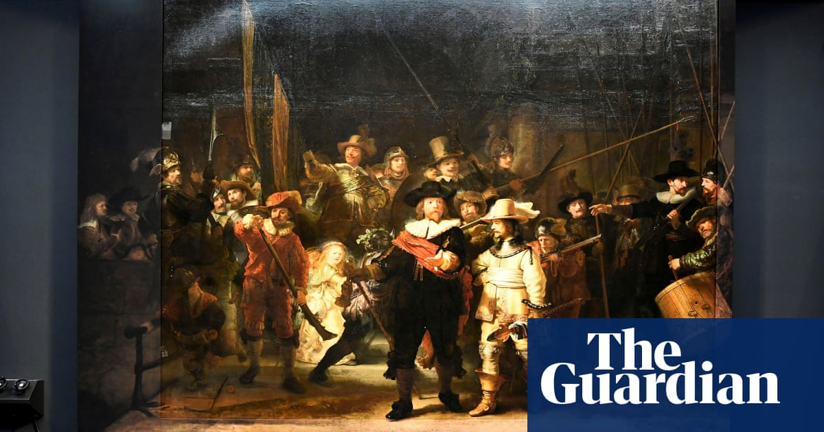 AI helps return Rembrandt's The Night Watch to original size