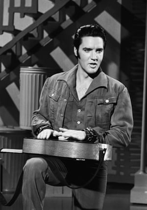 Presley during his '68 Comeback Special on NBC