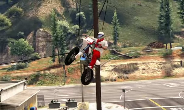 Grand Theft Auto Online: inside the Los Santos stunt scene | Games