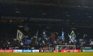 Schalke v Manchester City, Veltins Arena