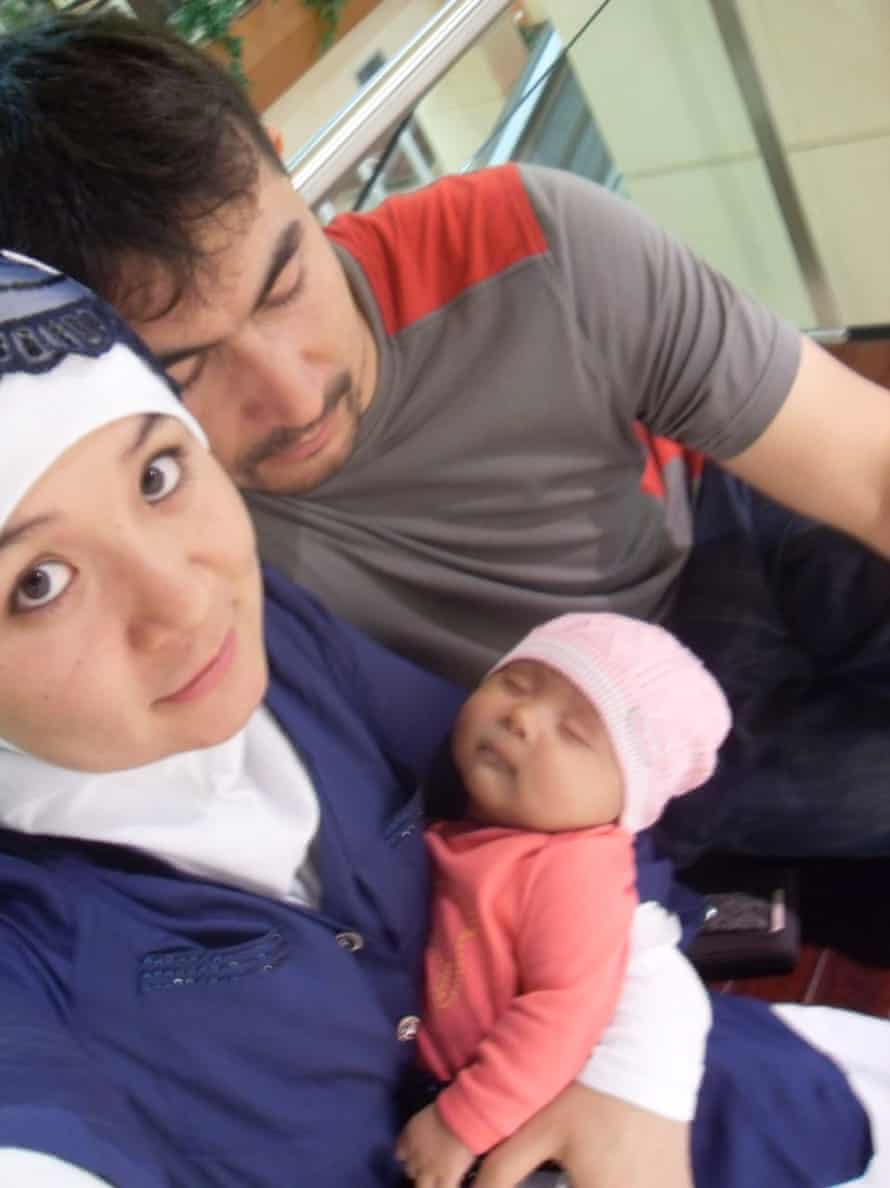 Ayub Mohammed with his family.