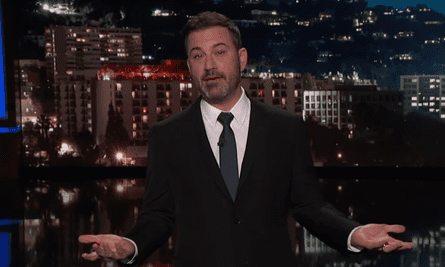 """Jimmy Kimmel on Trump's meeting criteria for narcissistic personality disorder: """"He'd probably be happy about it, you know?"""""""