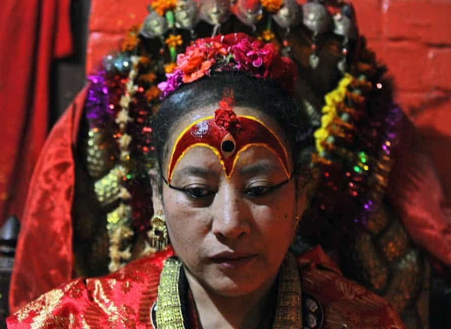 Dhana Kumari Bajracharya in Kathmandu in May 2015.