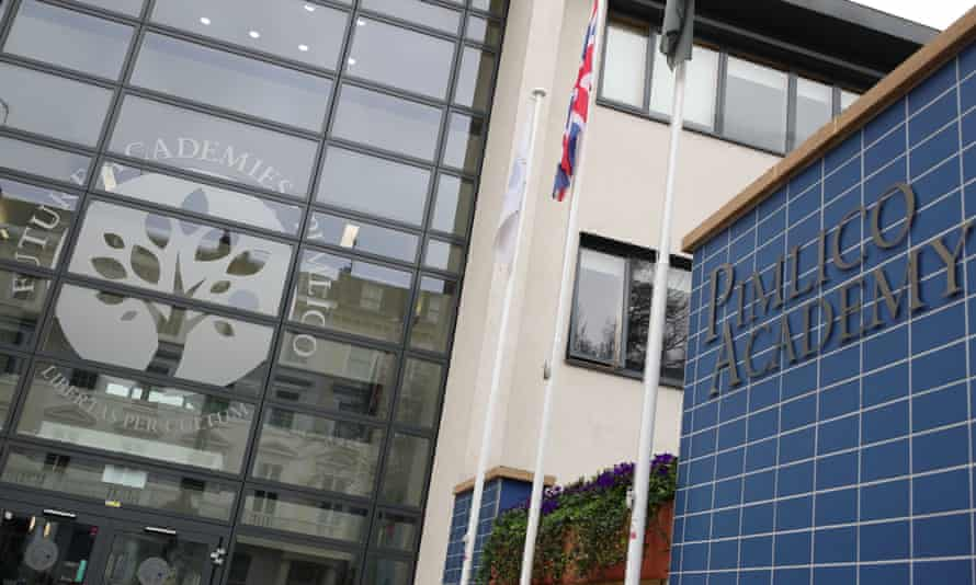 There have been protests at Pimlico academy over allegations of racial discrimination.