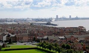 Humber estuary, Hull