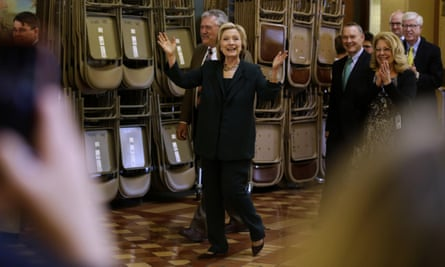 Hillary Clinton Leans Left Out Of Iowa With Bold Progressive