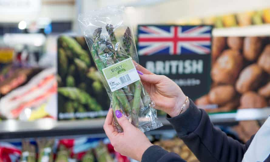Morrisons is selling asparagus as part of its 'wonky' range.