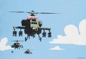 Banksy's Happy Choppers (2006)