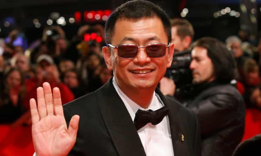Hello again … Wong Kar-wai arrives for the premiere of The Grandmaster, Berlin 2013