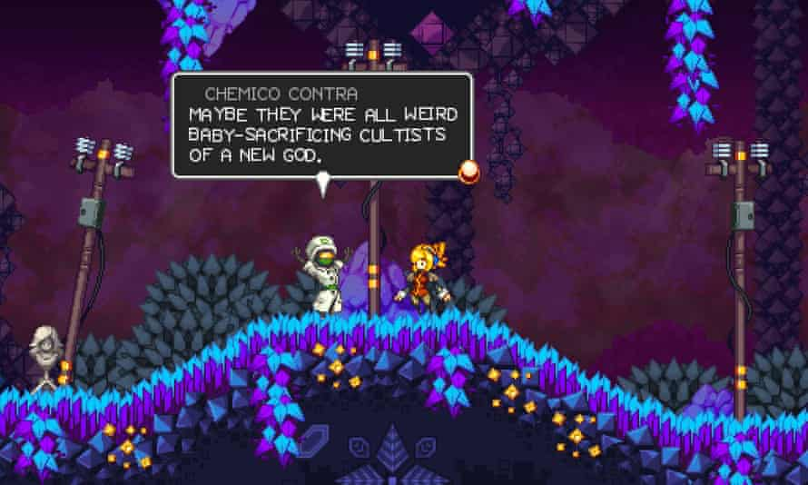 Likable misfits and satisfying puzzles … Iconoclasts.