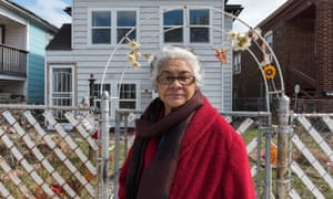 Maria Garcia: 'In 1981 people started moving out [when] they started seeing black people coming in ... I stayed because I don't judge by color.'