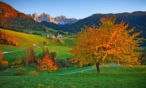 Autumn in the Alps, where the young narrator of The Eight Mountains spends his summers