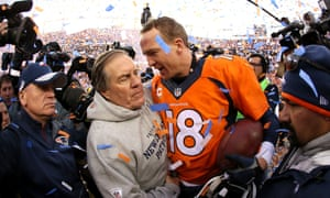 Manning caught up with Belichick after the Broncos' 20-18, and the pair exchanged words that previously had not been heard.