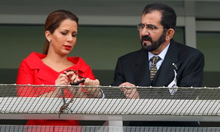 Princess Haya and Sheikh Mohammed in 2013