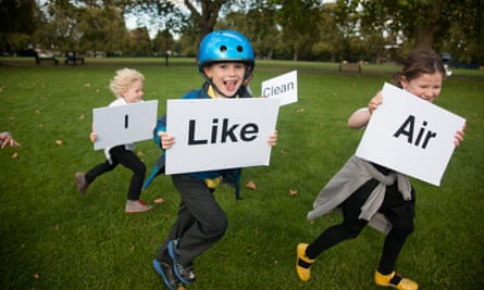 A promotional event for Shazia Ali's campaign I Like Clean Air.