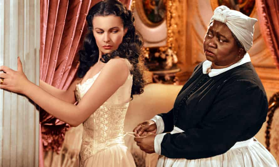 Vivien Leigh (left) and Hattie McDaniel in the film version of Gone with the Wind (1939)
