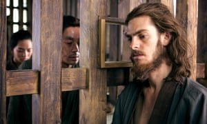 Andrew Garfield in the 'stark and stirring' Silence