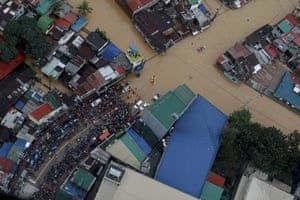 Those killed across the main island of Luzon, home to half of the country's 108 million population, included people who drowned, an elderly man hit by a tree and three workers crushed when a warehouse collapsed