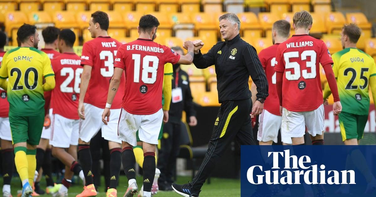 Manchester United can go rest of season unbeaten, says Ole Gunnar Solskjær