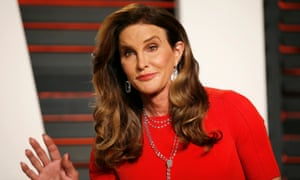 Caitlyn Jenner arrives at the Vanity Fair Oscar Party in Beverly Hills.