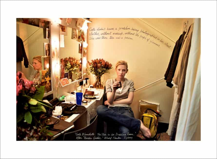 Cate Blanchett (2004) by William Yang.