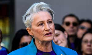 Kerryn Phelps is seen during the official announcement of her candidacy for the federal seat of Wentworth in Sydney, Sunday, September 16, 2018. Former AMA president, Sydney councillor and high-profile doctor Kerryn Phelps will stand as an independent in the by-election for the seat left vacant by former prime minister Malcolm Turnbull. (AAP Image/Brendan Esposito) NO ARCHIVING