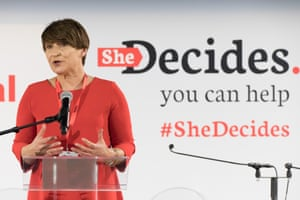 Lilianne Ploumen at the SheDecides conference, Brussels