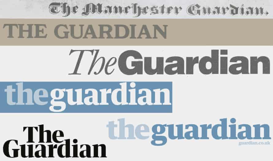 Guardian Mastheads