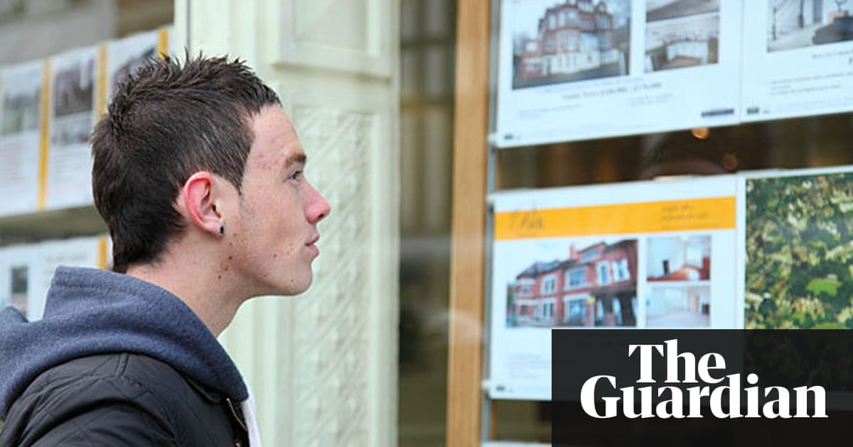 Home ownership among young adults has 'collapsed', study finds | Money |  The Guardian