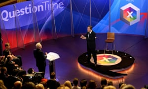 David Cameron answers questions from David Dimbleby