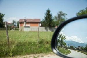 The house in Kosovo where Drita was held captive