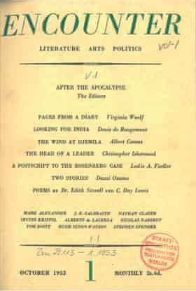 Literary-political magazine Encounter (1953–1991)