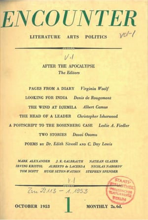 Literary-political magazine Encounter (1953–1991)