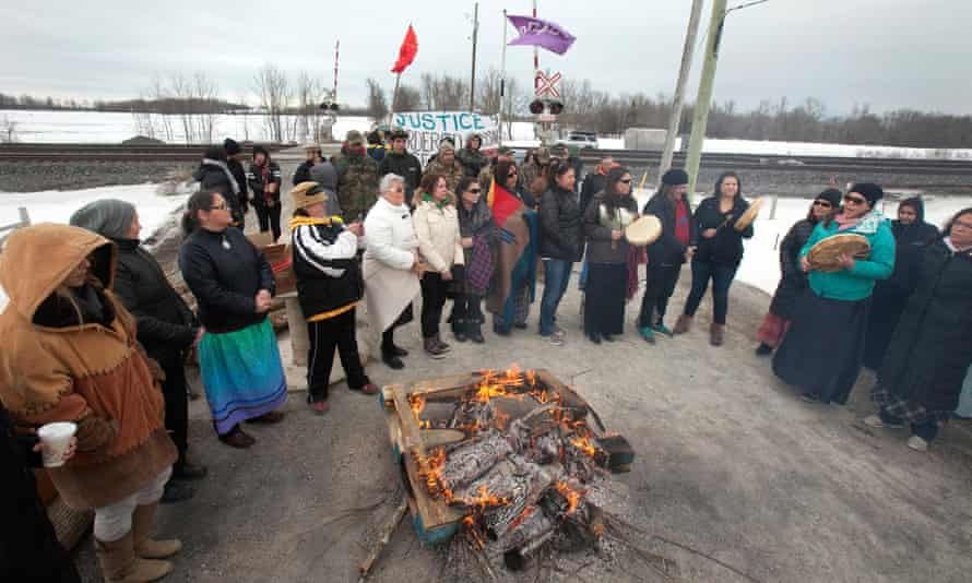 First Nations  day of action to call attention to missing and murdered indigenous and aboriginal women.