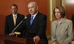 Netanyahu in US in 2010