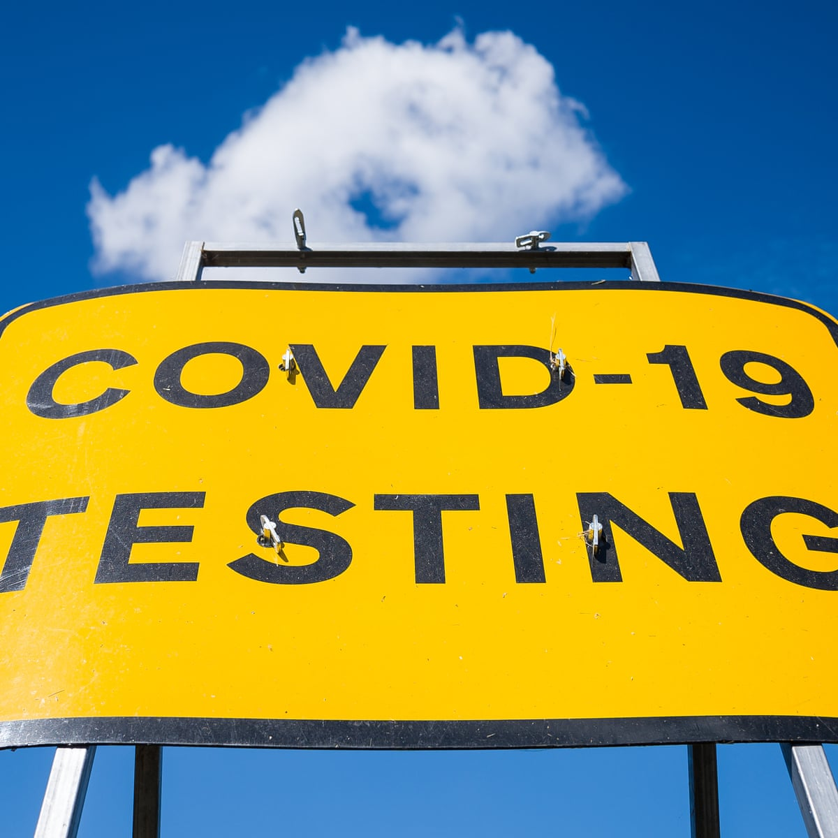 One Coughing Child And Three Fruitless Trips To The Same Covid Test Centre World News The Guardian