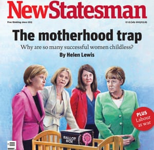 The New Statesman cover. The Tory leader in Scotland, Ruth Davidson, tweeted 'oh do sod off' in reference to the cover.