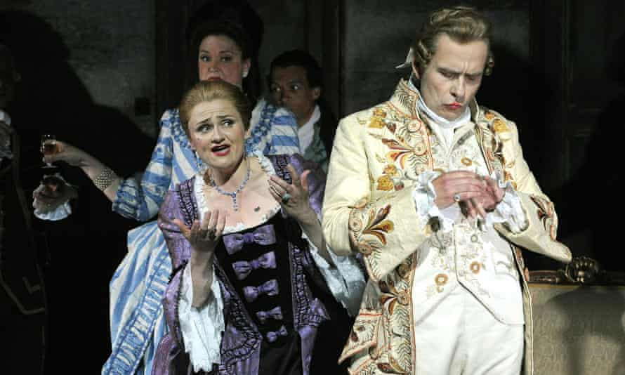 A scene from Capriccio, performed at Grange Park Opera in 2010.