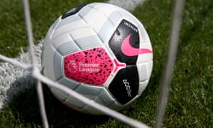 The Nike Merlin, official Premier League match ball for 2019-20.