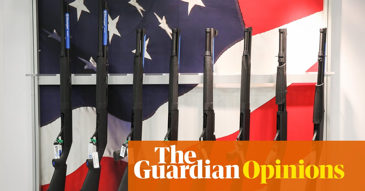 The Guardian view on soaring US gun violence: America must face the problem