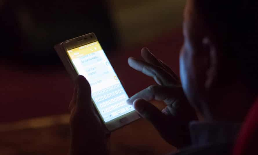 Not ready for prime time? ... Texting may be allowed in cinemas.