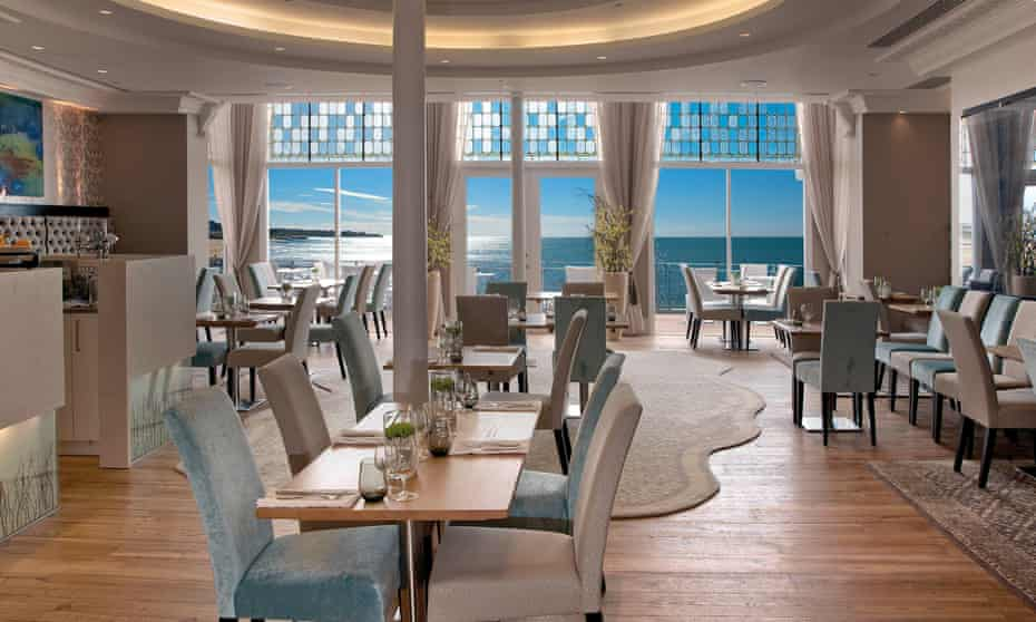 The dining room at the Sands Hotel, Margate