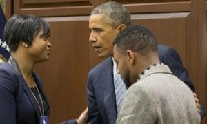 obama ferguson meeting