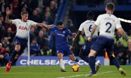 Pedro strike and Trippier howler lift Sarri and give Chelsea win over  Spurs. Read more 0e3f55543e3b6