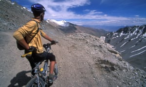 Mountain bike touring in Ladakh, India