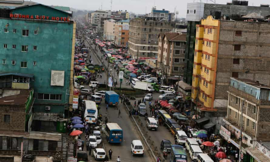 Eastleigh, Nairobi's predominantly Somali neighbourhood.