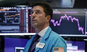 The floor of the New York Stock Exchange.